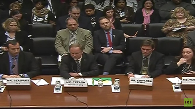 'Not some Third World country': Anger and blame at Flint water hearing in Congress