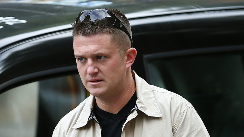EDL founder Robinson brands anti-racists 'cowards' ahead of Pegida UK march