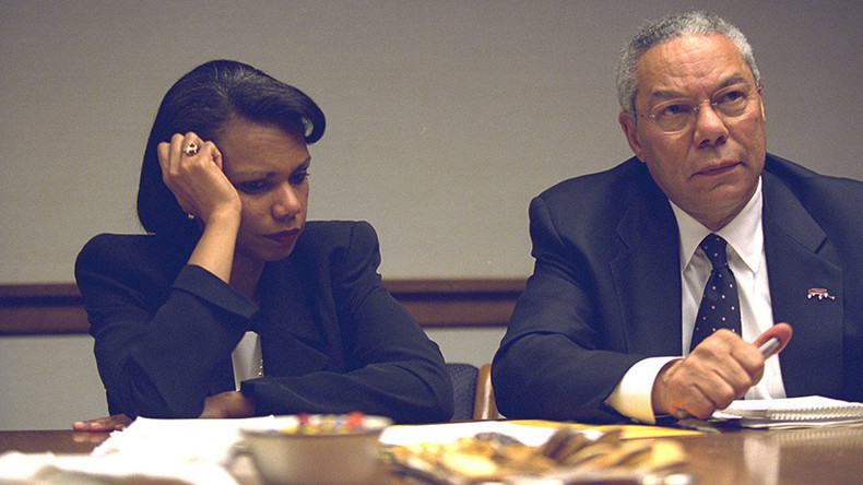 Classified data revealed in personal emails of ex-secretary of state Powell, Rice's aides
