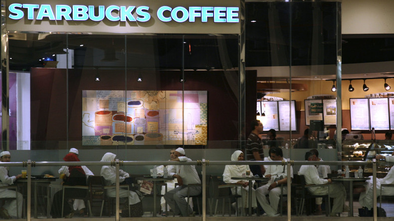 Saudi Starbucks refuses to serve women after 'gender wall' collapse