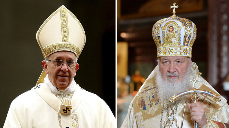 Unprecedented: Pope Francis, Russian Patriarch Kirill to meet in Cuba to heal 1,000yr rift