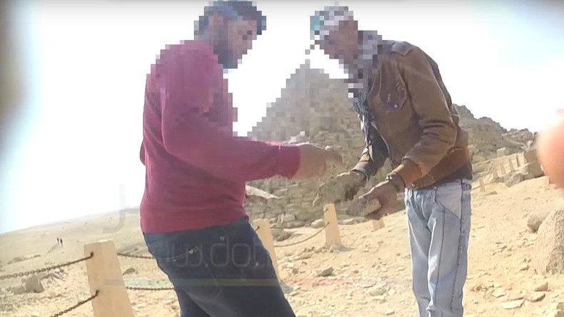 Literally, a pyramid scheme: Giza thieves caught selling ancient stones