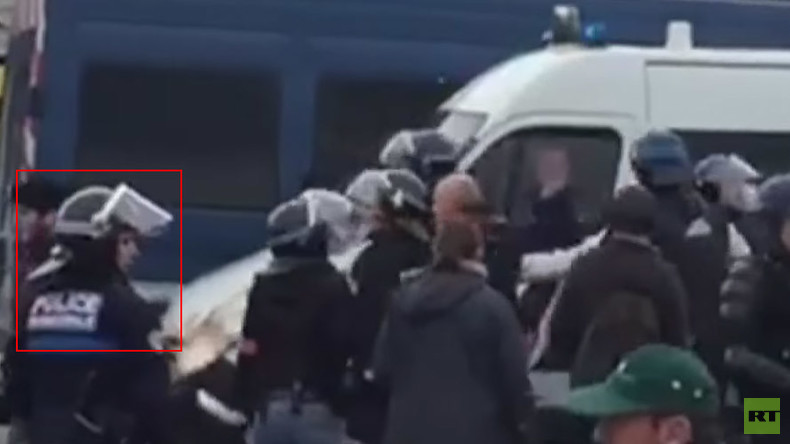 French police union files complaint against Calais after RT video of general's arrest
