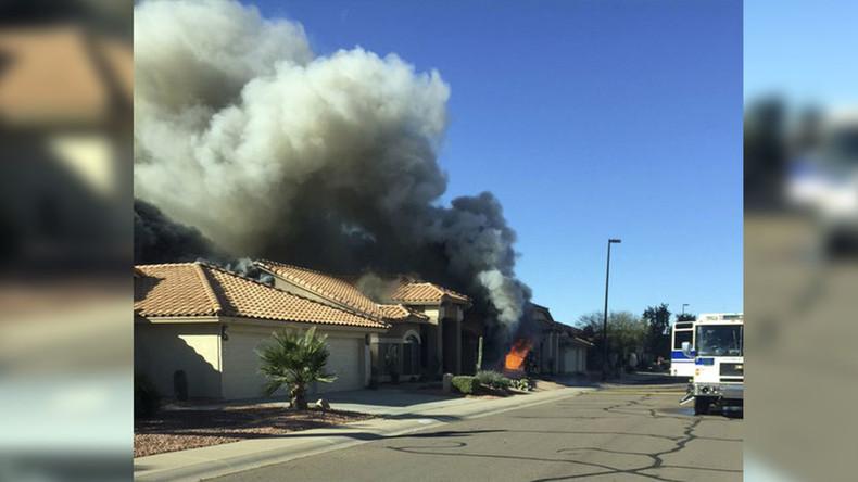 'Like popcorn': Hundreds of bullets explode during Arizona fire