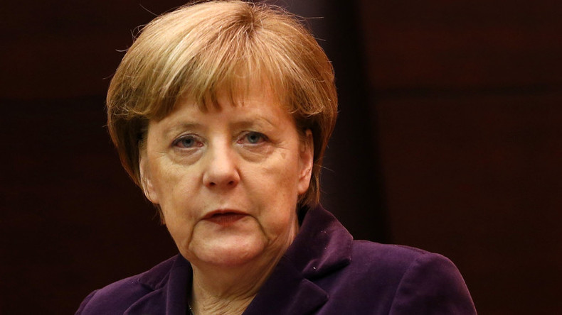 Hypocritical much? Merkel blames Russia for Syria's plight