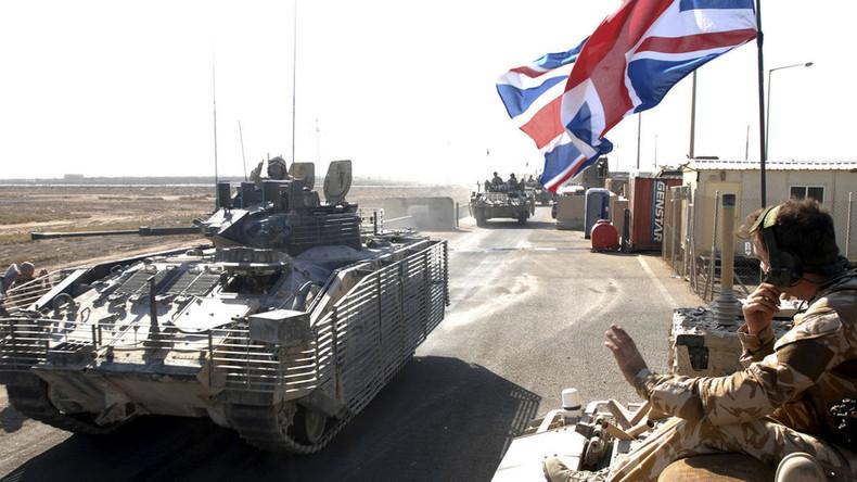 'UK military games in Jordan may be preparation for future anti-Russia operations'