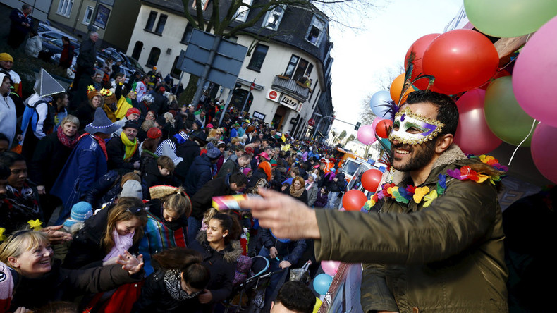 'Sharia police' float causes a stir at Austrian carnival, police probe launched