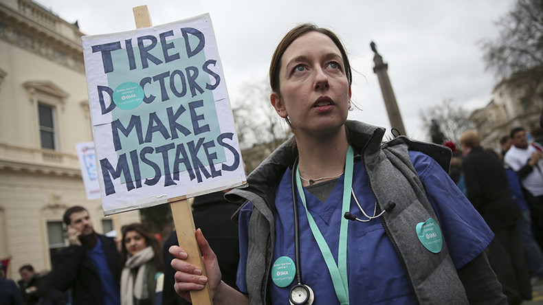 2nd opinion! Junior doctors strike again against hated Tory contracts