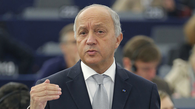 French FM Fabius slams US for lack of commitment to settle Syria crisis