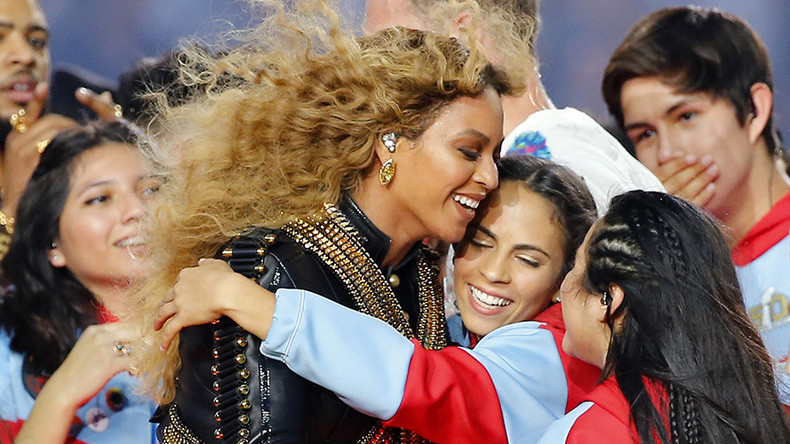 Police supporters slam Beyoncé's 'race-baiting' black rights-themed Super Bowl show
