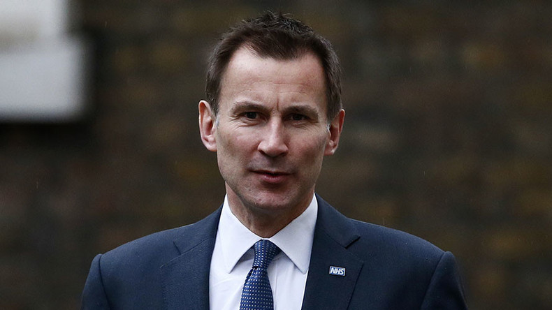 Bitter pill: Health Secretary Hunt defies striking junior doctors, will impose hated contracts