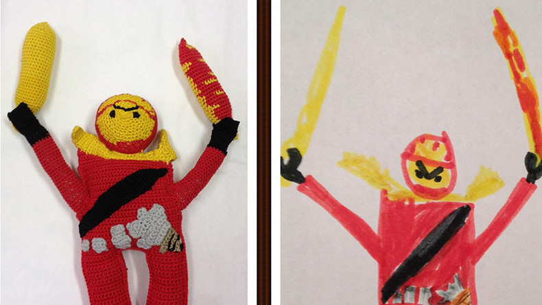 Toy Story: Kids' fantastic drawings transformed into bizarre stuffed dolls