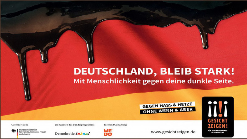Overcome 'dark side': Campaign urging residents to embrace refugees launched in Germany
