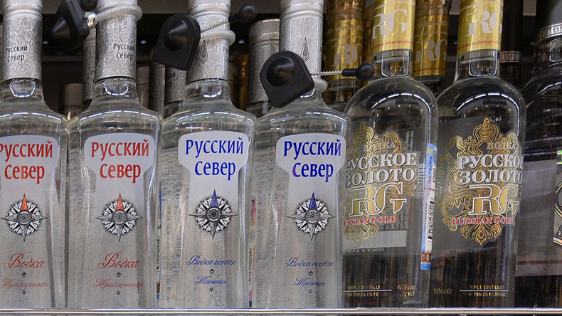 Vodka galore! Siberian man tunnels under store to steal 60 bottles of the hard stuff