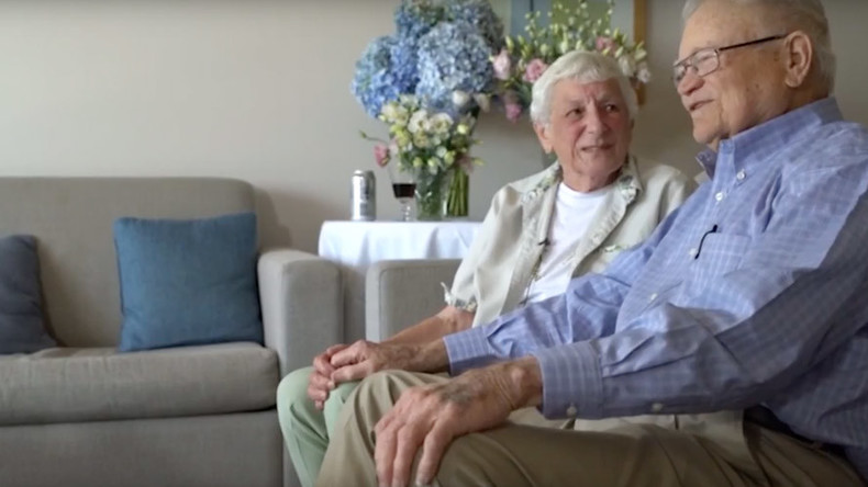 Long lost lovers defy the odds to reunite after 70 years apart (VIDEO)