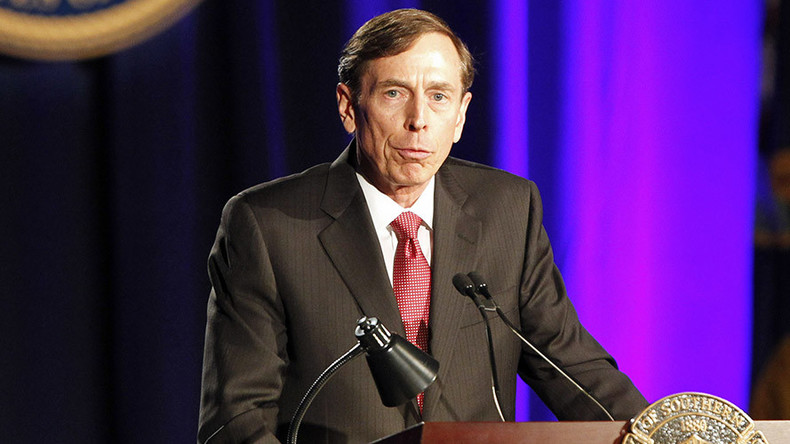 Petraeus says 'by no means clear' that Syria can be 'put together' again