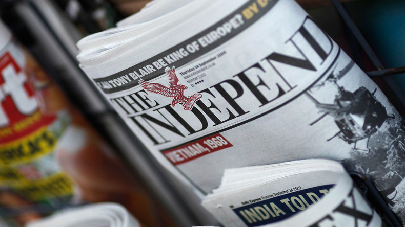 Independent newspaper to cease print editions after 30 years