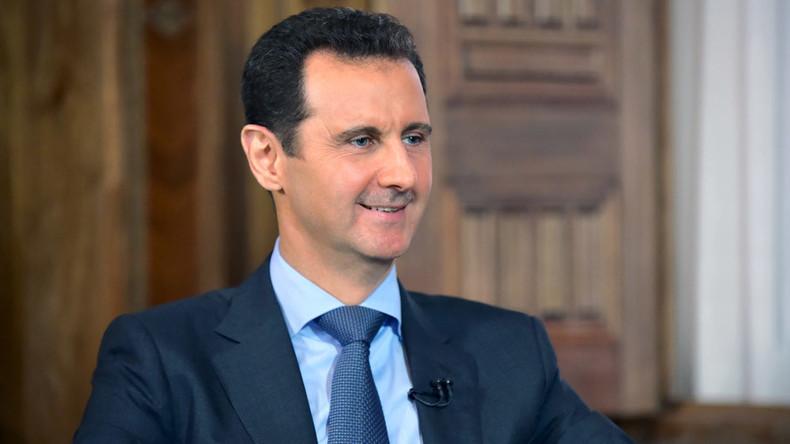 Assad says sees risk of Turkey, Saudi Arabia invading Syria