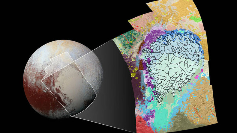 Be Pluto's Valentine! NASA colors dwarf planet's 'heart' (to study terrain)
