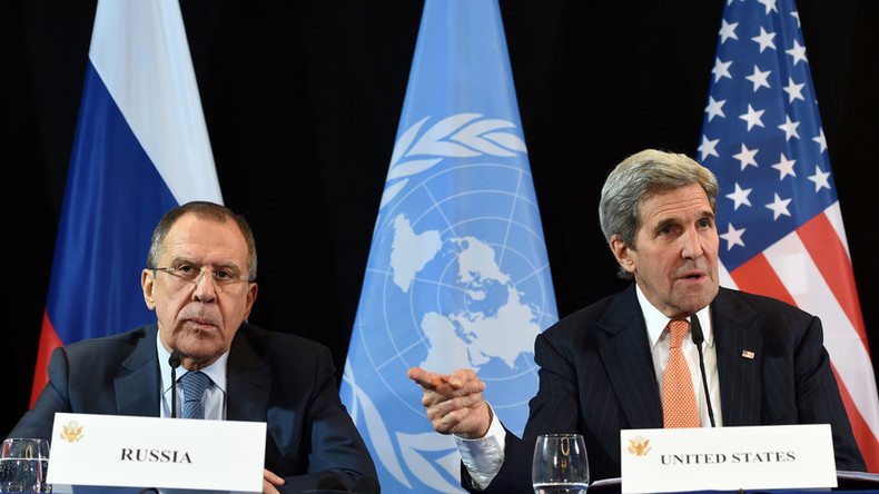 Lavrov, Kerry discuss concrete steps on military cooperation in Syria in 'excellent' Munich meeting