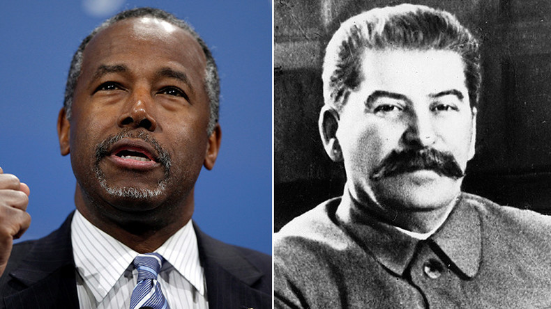 Comrade Carson: GOP candidate pulled fake Stalin 'quote' from right-wing Facebook meme