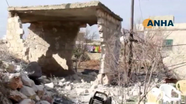 Civilians reported killed in Syria as Turkey shells Kurdish position for 2nd day (VIDEO)