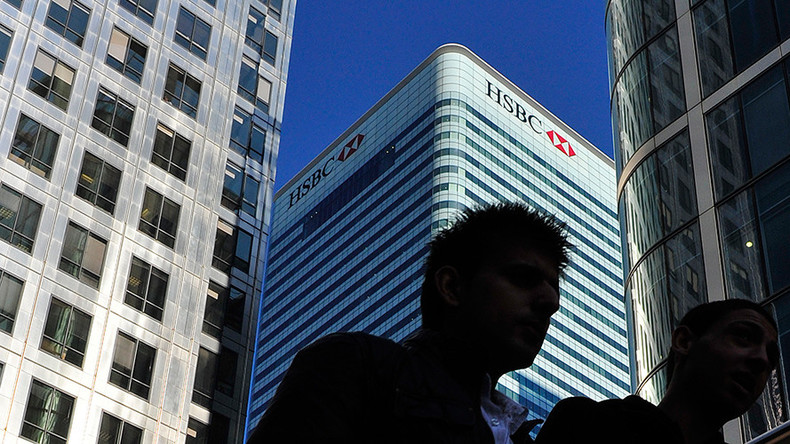 HSBC abandons move to Hong Kong as Asian markets tumble