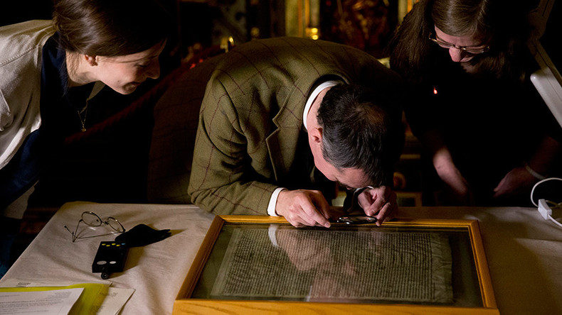 Saved from the chop: MPs insist on preserving archaic tradition of printing laws on calfskin