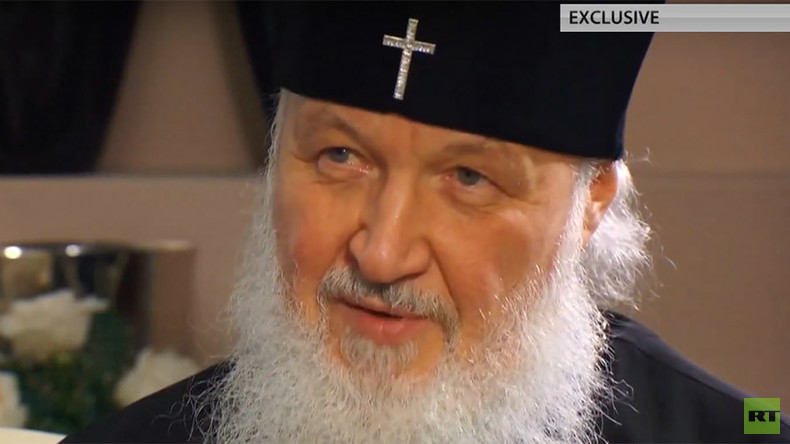 'Christians are under pressure in many developed countries' – Russian Patriarch Kirill to Ed Schultz