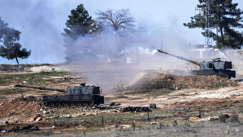 Turkey shells Kurdish forces in Syria for 4th successive day