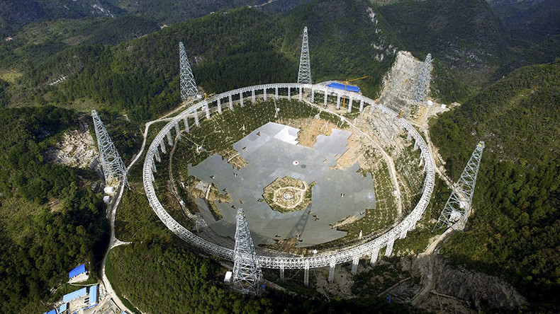 China to resettle more than 9,000 for building of world's biggest telescope