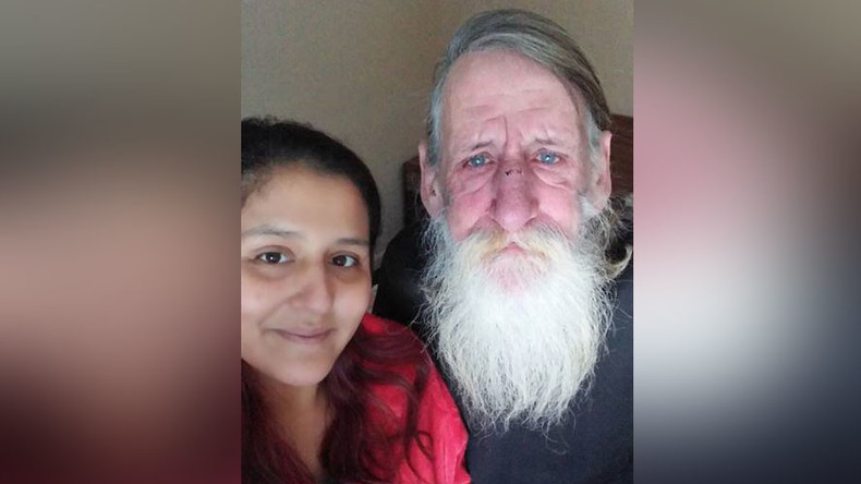 'He couldn't stop crying': Woman spends lottery winnings on hotel for homeless man