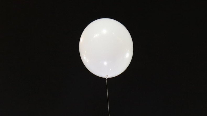 'Haunted' balloon comforts grieving mother at son's funeral