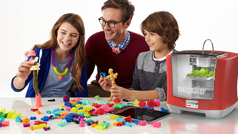 Move over Santa: 3D printer lets kids make their own toys