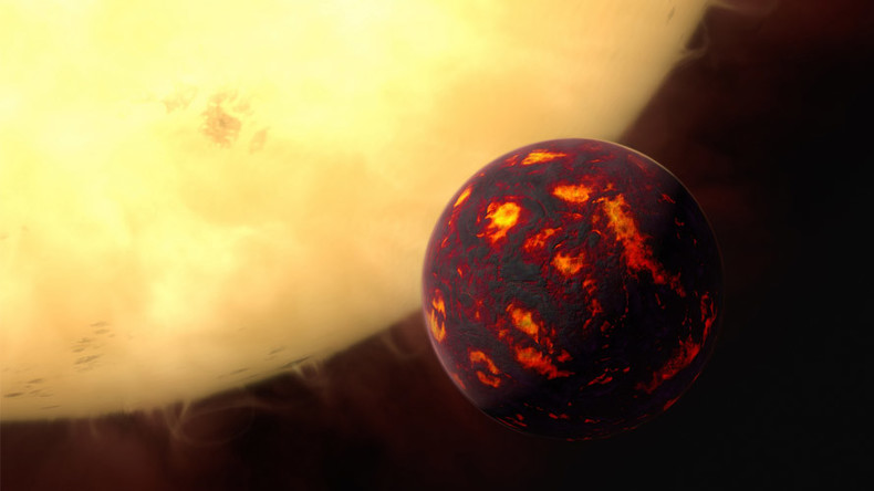 Astronomers sample atmosphere on super-Earth for the first time