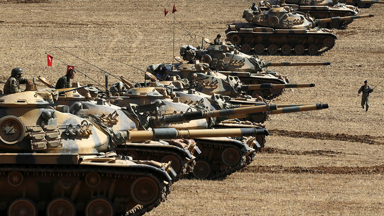 Turkey wants 'secure line' created 10km inside Syria, including Azaz - deputy PM