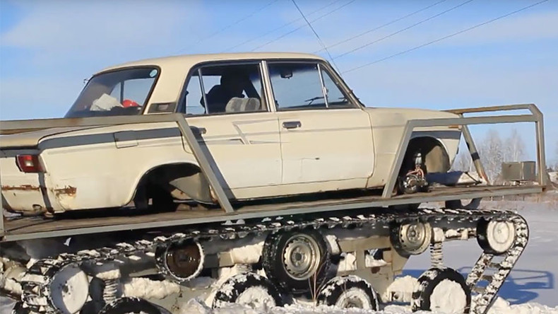 Lada skills: Extreme make-over transforms Soviet classic into tank bruiser (VIDEO)