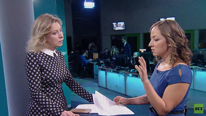 US merely creates impression it perceives Russia as threat – FM spox Zakharova to Anissa Naouai