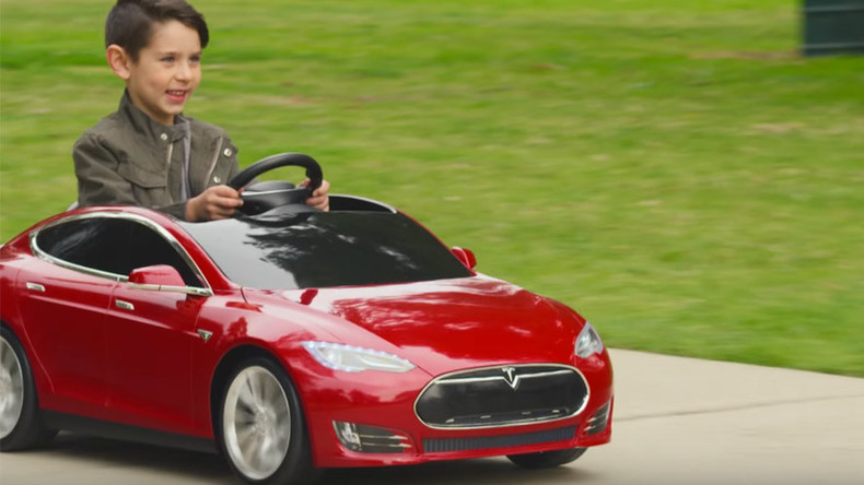 Growing up Tesla: Toy Model S to hit playgrounds