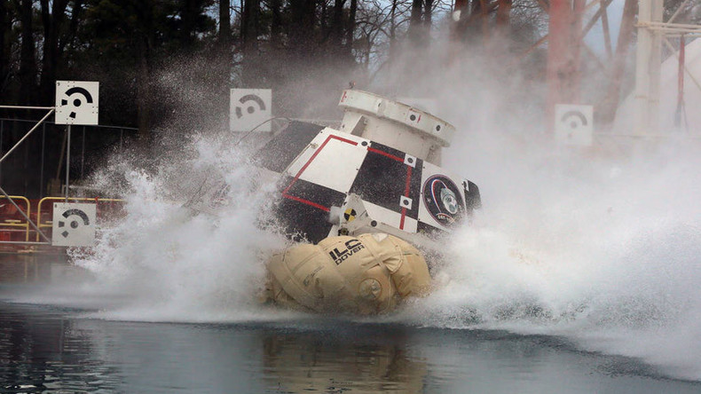 Splash test dummy: NASA test-crashes new Boeing Starliner