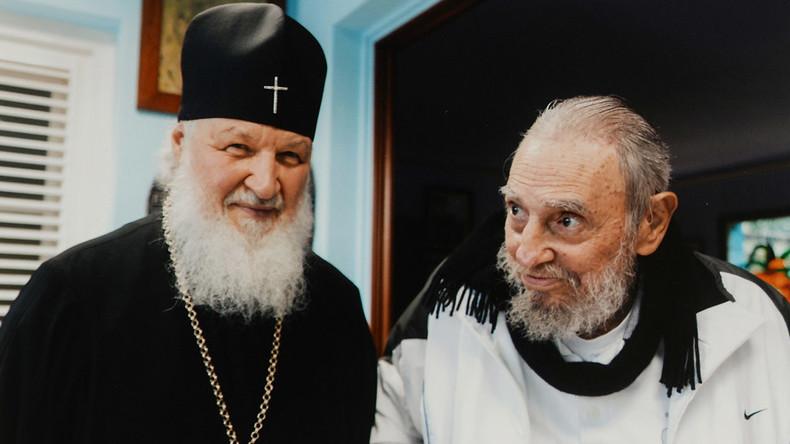 Russian Patriarch Kirill meets Cuba's Fidel Castro in Havana (VIDEO)