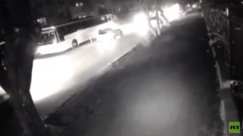 Moment of deadly Ankara blast caught on CCTV (VIDEO)