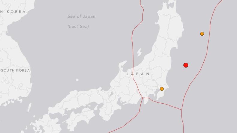 5.1 magnitude earthquake strikes off Fukushima coast of Japan