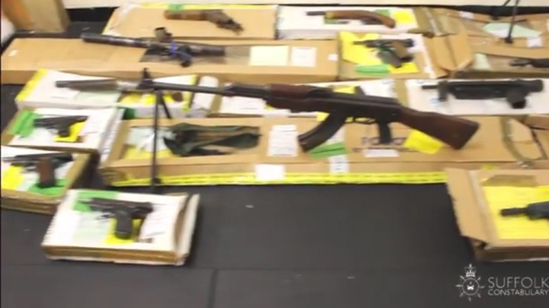 500 guns & a bazooka: Council chairman horded UK's biggest ever illegal weapons cache