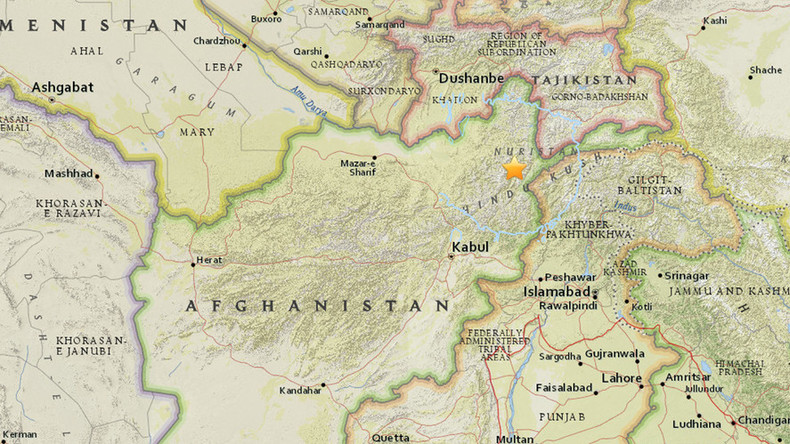 5.5-magnitude earthquake strikes northern Afghanistan, tremors felt in Kabul