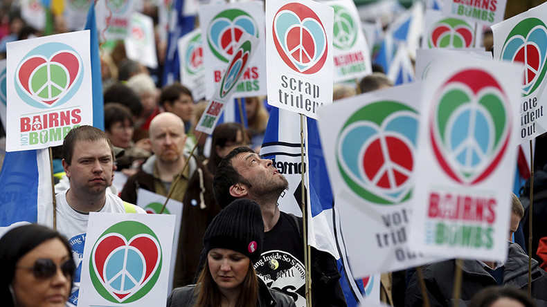 Time to move on? Thousands to attend anti-Trident rally (VIDEO)