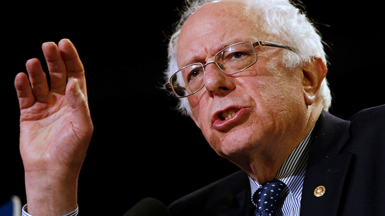 Bernie Sanders 'censored' by MSNBC while criticizing trade deal