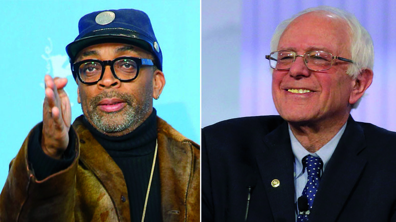 Do the Right Thing: Spike Lee helps 'my brother' Bernie Sanders win black vote