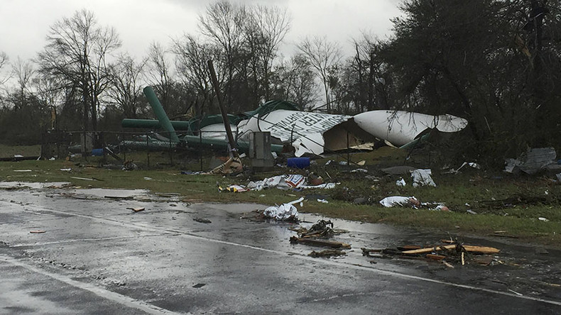 7 tornadoes slam South, killing 3, injuring at least 31