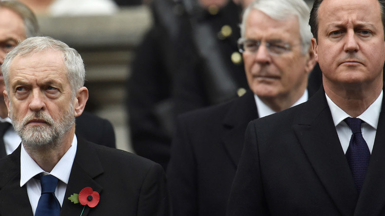 'He's just jealous': Corbyn rebuffs Cameron's fashion advice